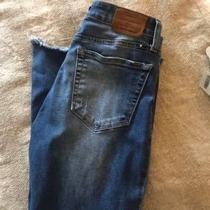 Lucky Brand Ava Ankle Skinny Jeans